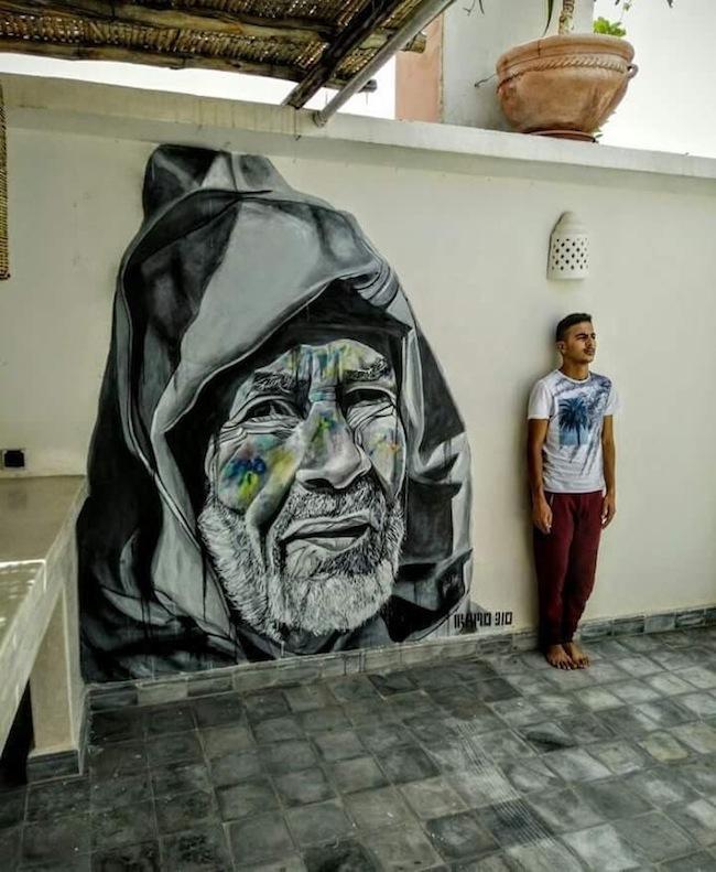Iramo Samir, Old man from Morocco, Marrakech, 2017. Courtesy of Iramo Samir