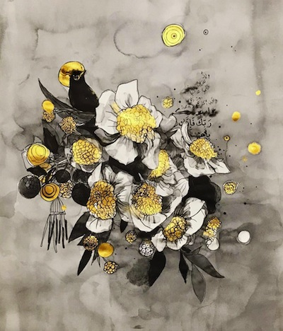 Suhad Khatib - Spring. Courtesy of Foresight32 Art Gallery, Amman