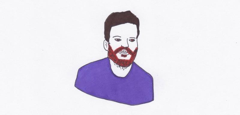 una illustrazione di Claudia Avolio che omaggia l'artista Ali al Jabali