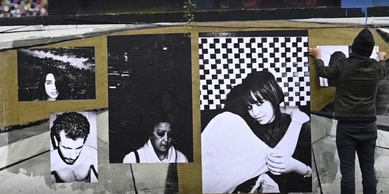 """Un fotogramma dal video di Jiser Reflexions Mediterrànies """"Collective220 · Acció fotogràfica a Barcelona"""" (2019). Courtesy of Jiser"""