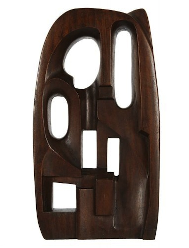 Saloua Raouda Choucair (Libano), Interform, 1960, legno, 23x12x4 cm. Collezione della Barjeel Art Foundation (Sharjah, EAU). Courtesy of Grey Art Gallery, NY