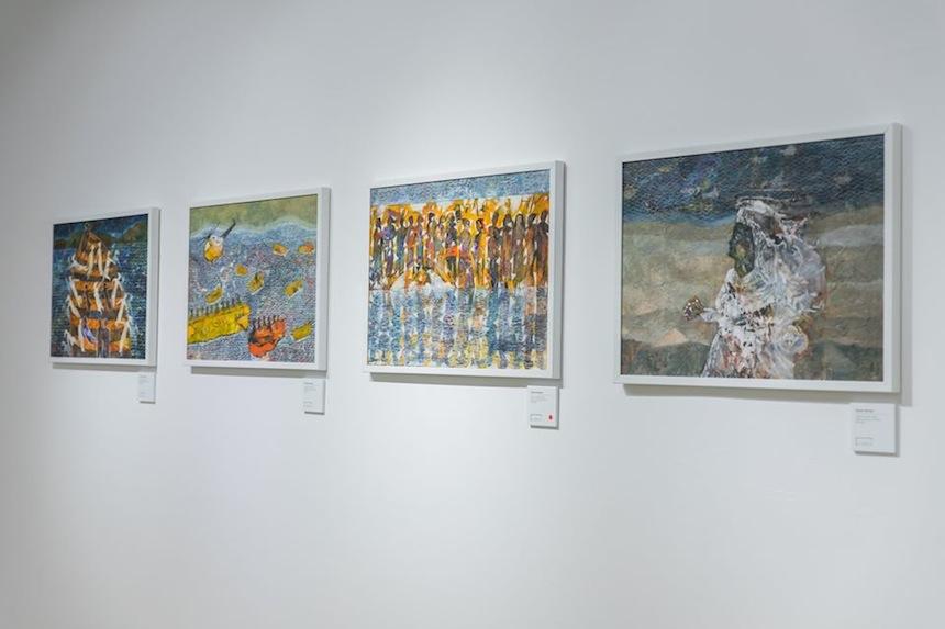 Dalla mostra Shoreless Sea di Tayseer Barakat. Courtesy of Zawyeh Gallery (Ramallah)
