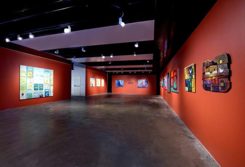 Hafez Gallery, Jeddah. Courtesy of Hafez Gallery