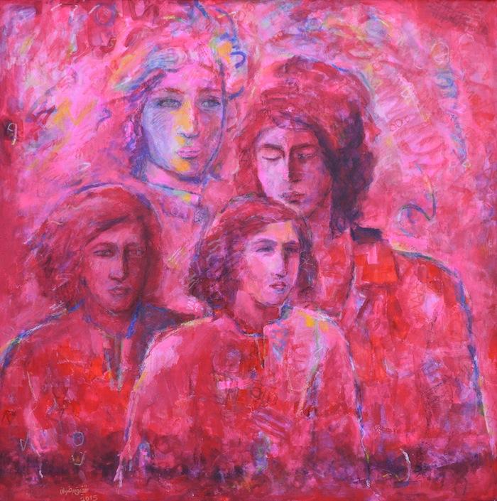 Shafik Radwan Rosa Damascena 2015 Courtesy of Zawyeh Gallery Ramallah