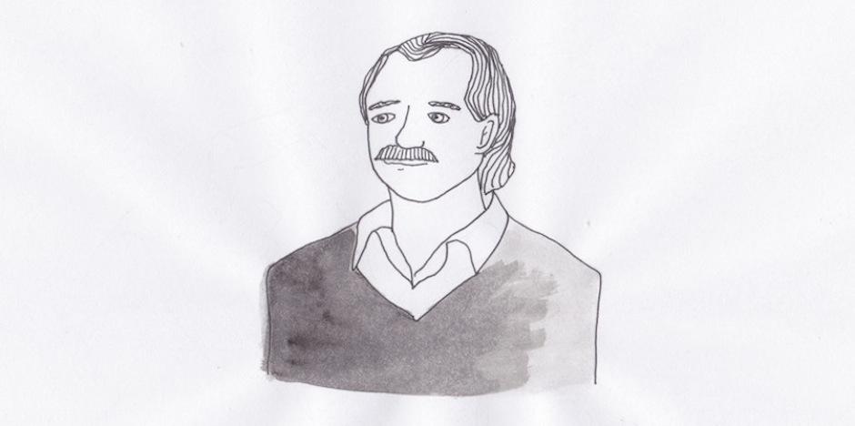 illustrazione di Claudia Avolio in omaggio all'artista Youssef Abdelke